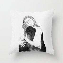 Deeply peaceful heaven. Throw Pillow