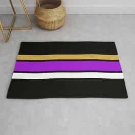 Team Colors 2...Purple, gold Rug