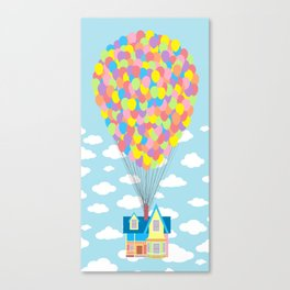 Up! On Clouds Canvas Print