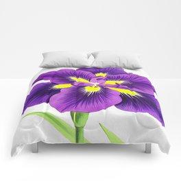Violet Comforters