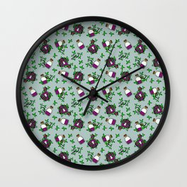 Poisonous Pattern Wall Clock