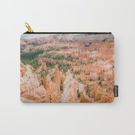 Bryce Canyon | Nature Landscape Photography of Rocky Orange Hoodoo Formations in Utah Desert Carry-All Pouch