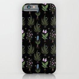 Botanical Woodland Bulbs  iPhone Case