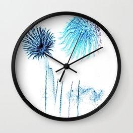 Fiesta Abstract #5 Wall Clock