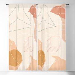 Minimal Geometric Shapes 38 Blackout Curtain