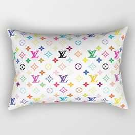 White Love 2 Rectangular Pillow