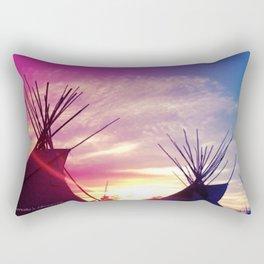 Sunset Tipi Rectangular Pillow