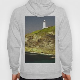 Trevose Head Lighthouse, Cornwall, United Kingdom Hoody