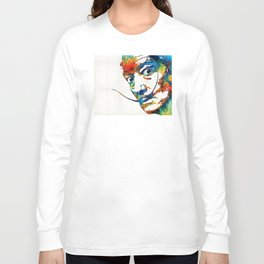 Colorful Dali Art by Sharon Cummings Long Sleeve T-shirt