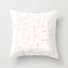 Crossing Paths Throw Pillow