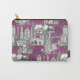 Seattle indigo crush Carry-All Pouch