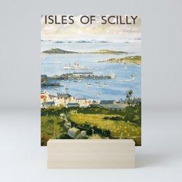 cartaz The Isles of Scilly Mini Art Print