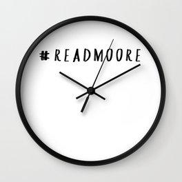Read Moore Wall Clock