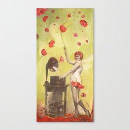 Poppy Frenzy  Canvas Print