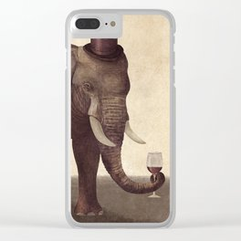 A Fine Vintage Clear iPhone Case