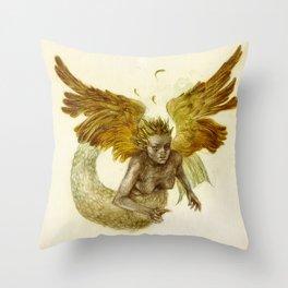 Sirena Volatus Throw Pillow