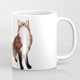 Fox Art, Watercolor Art, Animal Art, Woodland Animal Coffee Mug