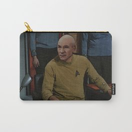 Captain Picard in TOS uniform Carry-All Pouch