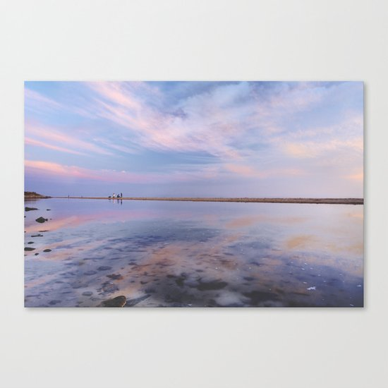 """Heaven walk"". Tarifa beach Canvas Print"