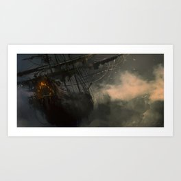 Flying Dutchman Art Print