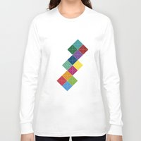 diamonds Long Sleeve T-shirts featuring Diamonds by Losal Jsk