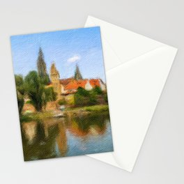 Laufenburg Cityscape Stationery Cards