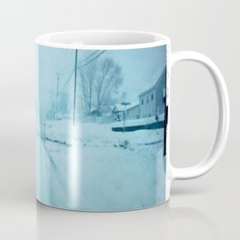 An Icy road Coffee Mug