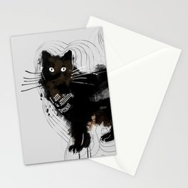 I am a smiling person Stationery Cards