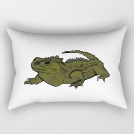 Tia Tuatara Rectangular Pillow