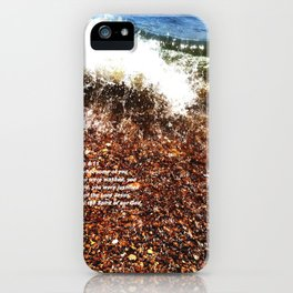 Baptism 2 by Saribelle Rodriguez iPhone Case