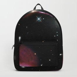 Galaxy Hercules A centered by Massive Black Hole Telescopic Photograph Backpack
