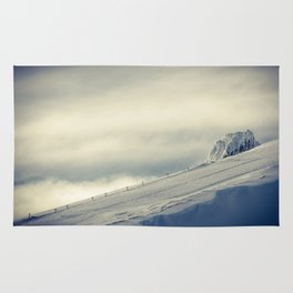 Above the Clouds - Mt. Hood Rug