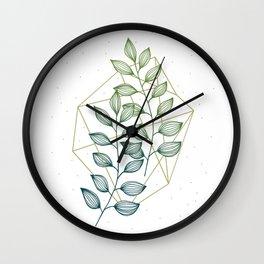 Geometry and Nature III Wall Clock