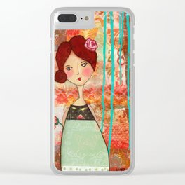 Fearfully & Wonderfully Made Clear iPhone Case