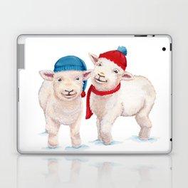 Winter Lambs Laptop & iPad Skin