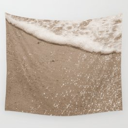 Sparkling Diamond Beach Wall Tapestry