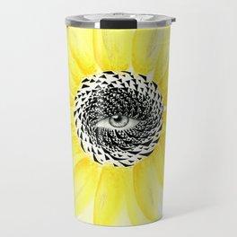 The Sunflower Eye Travel Mug