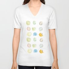 Abstract dots  Unisex V-Neck