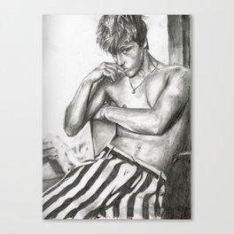 Mitch Hewer 2 Canvas Print