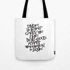 Divide Us Tote Bag