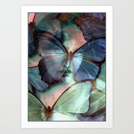 You are my blue butterfly Art Print