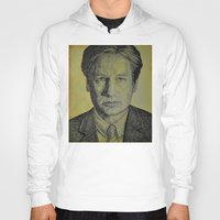 mulder Hoodies featuring Mulder  by Jenn