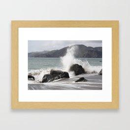 Splashed Framed Art Print