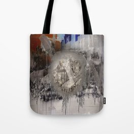 The surface etch Tote Bag