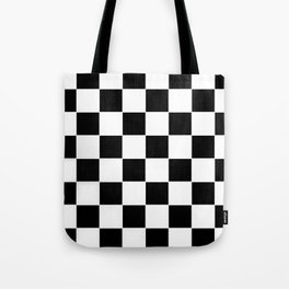 Checkerboard pattern Tote Bag