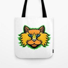 Selkirk Rex Cat Mascot Tote Bag