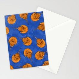 Horseshoe Crab Pattern-Big Stationery Cards