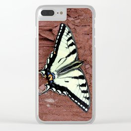 Canadian Tiger Swallowtail Clear iPhone Case