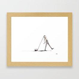 Heavy Mind Framed Art Print