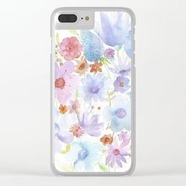 Spring in my heart Clear iPhone Case
